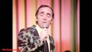 Charles Aznavour chante Comme des roses - 1972