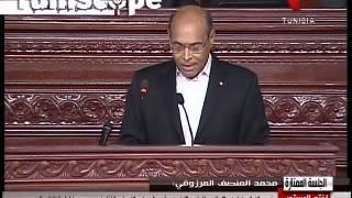 En Vidéo-Marzouki : 'vive la Tunisie, vive la révolution'