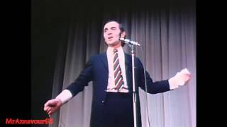 Charles Aznavour chante La boheme  - 1968