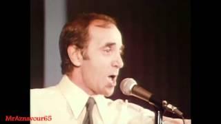 Charles Aznavour chante Emmenez moi  - 1972
