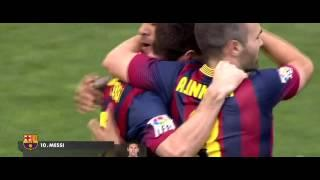 Lionel Messi vs Almeria HD 720p (28/9/2013) -INDIVIDUAL HIGHLIGHTS-
