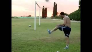 Lionel Messi Shows his Magic on Training