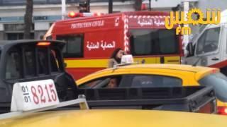 Un jeune escalade l'Horloge de l'avenue Habib Bourguiba et menace de se jeter dans le vide