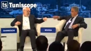 مشادة كلامية بين راشد الغنوشي و عمر موسى