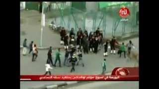 اشتباكات حادة اثر مباراة كرة قدم في مصر