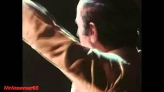 Charles Aznavour chante Le cabotin  - 1972