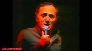 Charles Aznavour chante Camarade  - 1978