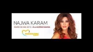 najwa karam soon in Mawazine Festival - Marocco 28//5/2013