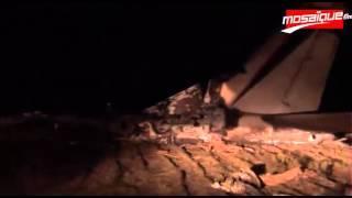 عاجل : سقوط طائرة ليبية في نيانو بقرمبالية تونس