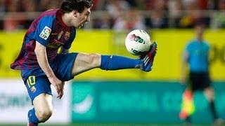 Lionel Messi - Greatest Ball Controls | HD