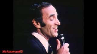 Charles Aznavour chante Tout s'en va  - 1968