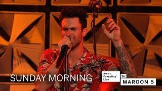 Maroon 5 - Sunday Morning (Amex EveryDay LIVE)