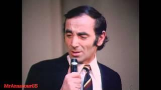 Charles Aznavour chante Paris au mois d'Août  - 1968