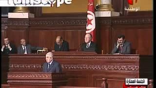 Le lapsus de Abdelkader Bensalah : 'Son excellence, le Président Mehdi jomaa'