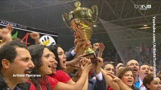 CAN Handball 2014 (Dames) Podium La Tunisie championne d'Afrique !