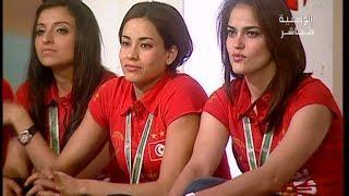 DS CAN 2014 Les Tunisiennes championnes d'Afrique de Handball