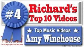 Amy Winehouse - Valerie #4 On Richard's Top 10 Amy Winehouse Music Videos - Watch All 10