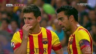 Lionel Messi vs Atlético Madrid (Spanish Supercup) 21.8.2013 HD 720p