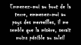 Emmenez-moi - Charles Aznavour // Paroles