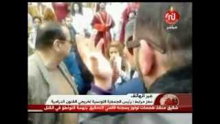 تساؤل حول موقف الأمن من العنف في شارع الحبيب بورقيبة