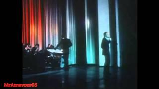 Charles Aznavour chante Sa jeunesse  - 1972