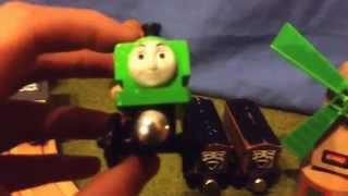 Thomas Wooden Crossover: 2014 Duck With George! (George's Audio May Be Quiet)