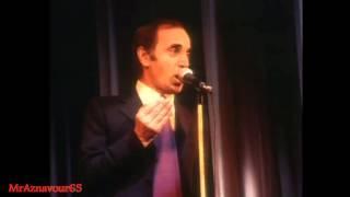 Charles Aznavour chante Poker - 1972