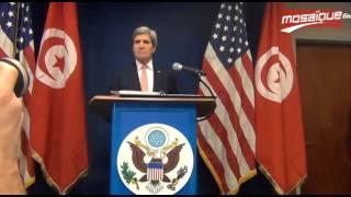 جون كيري: الداخليّة التونسيّة ستتسلّم سيارتين خاصتين لمكافحة الارهاب والجريمة
