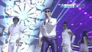 PSY_0805_SBS Inkigayo_GANGNAM STYLE (강남스타일)