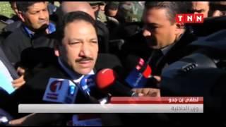 تشيع جثماني شهداء الحرس الوطني بجندوبة : جو جنائزي يخيم على الجهة