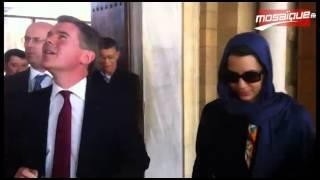 A.Karboul fait visiter la médina au ministre des A.E Britanniques