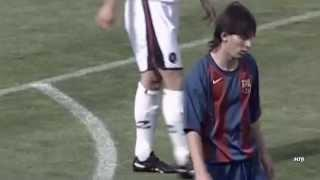 The Magic of the Young Lionel Messi - La Masia