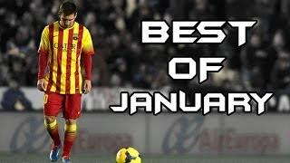 Lionel Messi - Best of January | Goals, Skills&Passes - 2013/2014 | HD