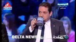 لطفي العبدلي يكركر المرزوقي و الحكومة و يتسبب في انسحاب 2 ضيوف هههههههههههههههههههه