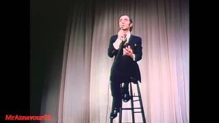 Charles Aznavour chante  Les enfants de la guerre  - 1968