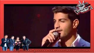 مرحلة الصوت وبس .. المشترك وائل من لبنان ينضم إلى فريق صابر الرباعي 2014 الحلقة الخامسة
