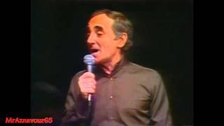 Charles Aznavour chante Mes emmerdes  - 1978