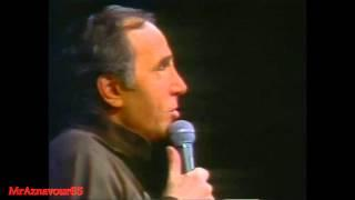 Charles Aznavour chante J'ai vu Paris -  1978