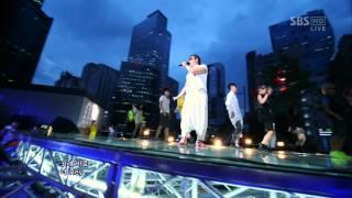 PSY_0819_SBS Inkigayo_GANGNAM STYLE (강남스타일)