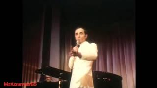 Sympathique intervalle de Charles pendant le duo avec Pierre Roche  - 1972