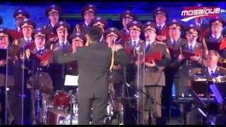 Carthage 2013 :Les choeurs de l'Armée rouge à l'ouverture