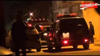 فيديو حصري لأحداث حي النسيم اريانة و المحل الذي يسكنه الارهابيين