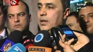 Première déclaration de Mehdi Jomaa après le vote de confiance