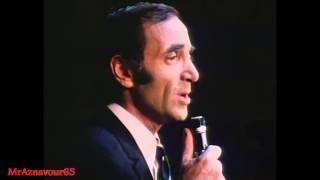 Charles Aznavour chante Sa Jeunesse et  Hier encore  - 1968