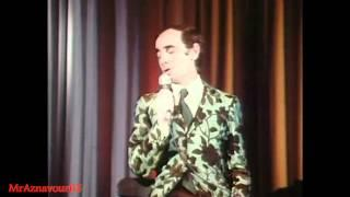 Charles Aznavour chante Que c'est triste Venise - 1972