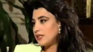 najwa karamنجوى كرم فى حلقة خاصة سوريا 1995