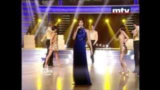 Nancy Ajram Dancing With The Stars - Badak Teba Fik (Live)/نانسي عجرم في رقص النجوم -  بدك تبقى فيك