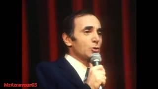 Charles Aznavour chante Je n'peux pas rentrer chez moi  - 1972
