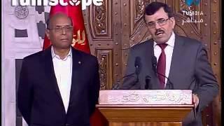 Laarayedh remercie Marzouki pour le soutien qu'il a apporté à son gouvernement